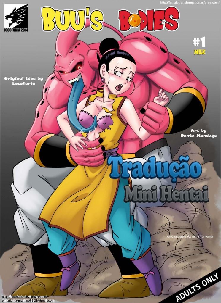 Dragon Ball Z Porno Majin Buu Estuprando A Mulher Do Goku