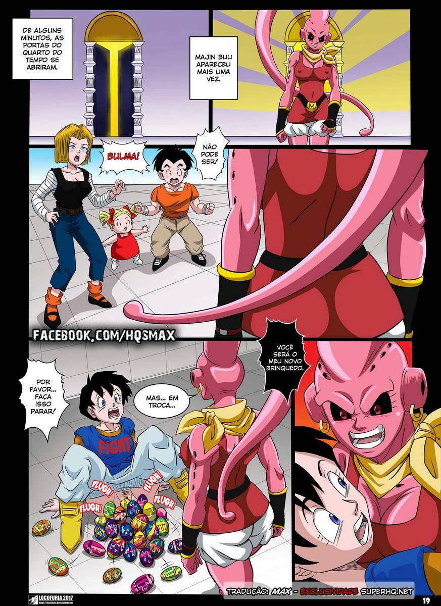 Quadrinhos Porno Hentai Dragon Ball Z Majin Buu Estuprando A