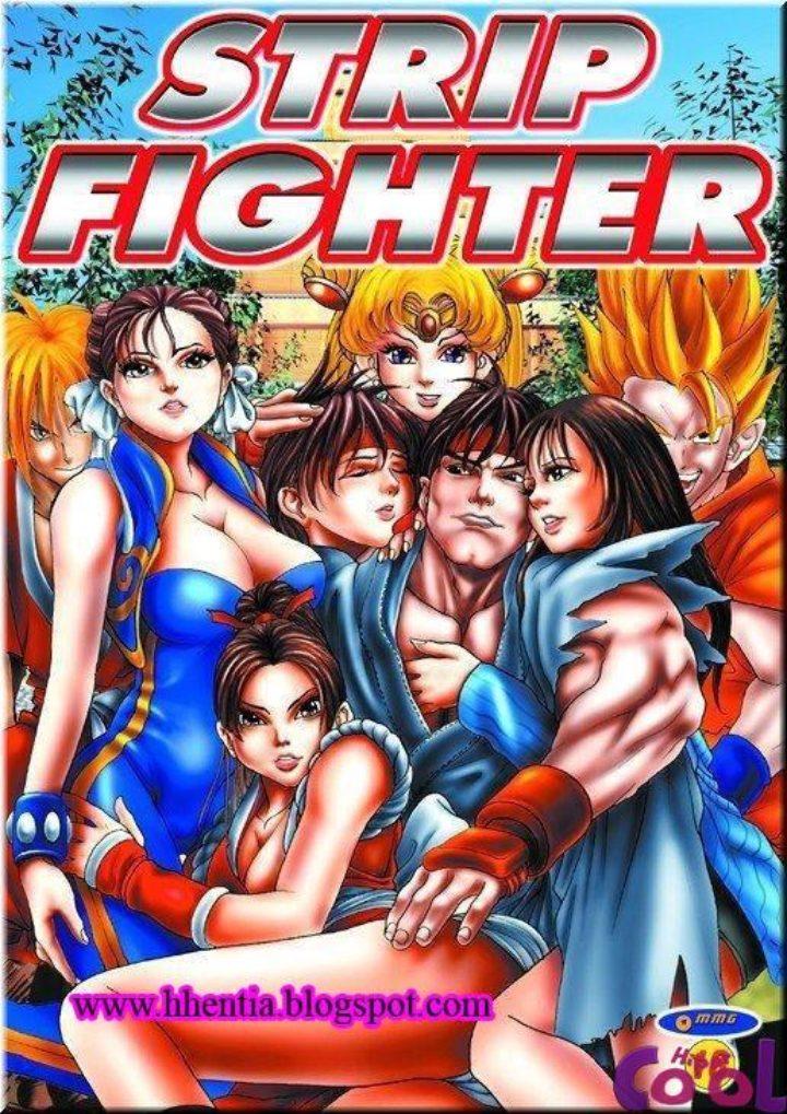 Street Fighter Hentai Pornô Ryu Comendo As Gostosas