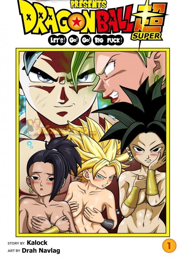 Dragon Ball Super Hentai Goku comendo as gostosas
