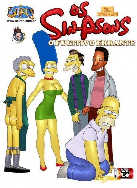 Família Simpsons porno fugitivo errante