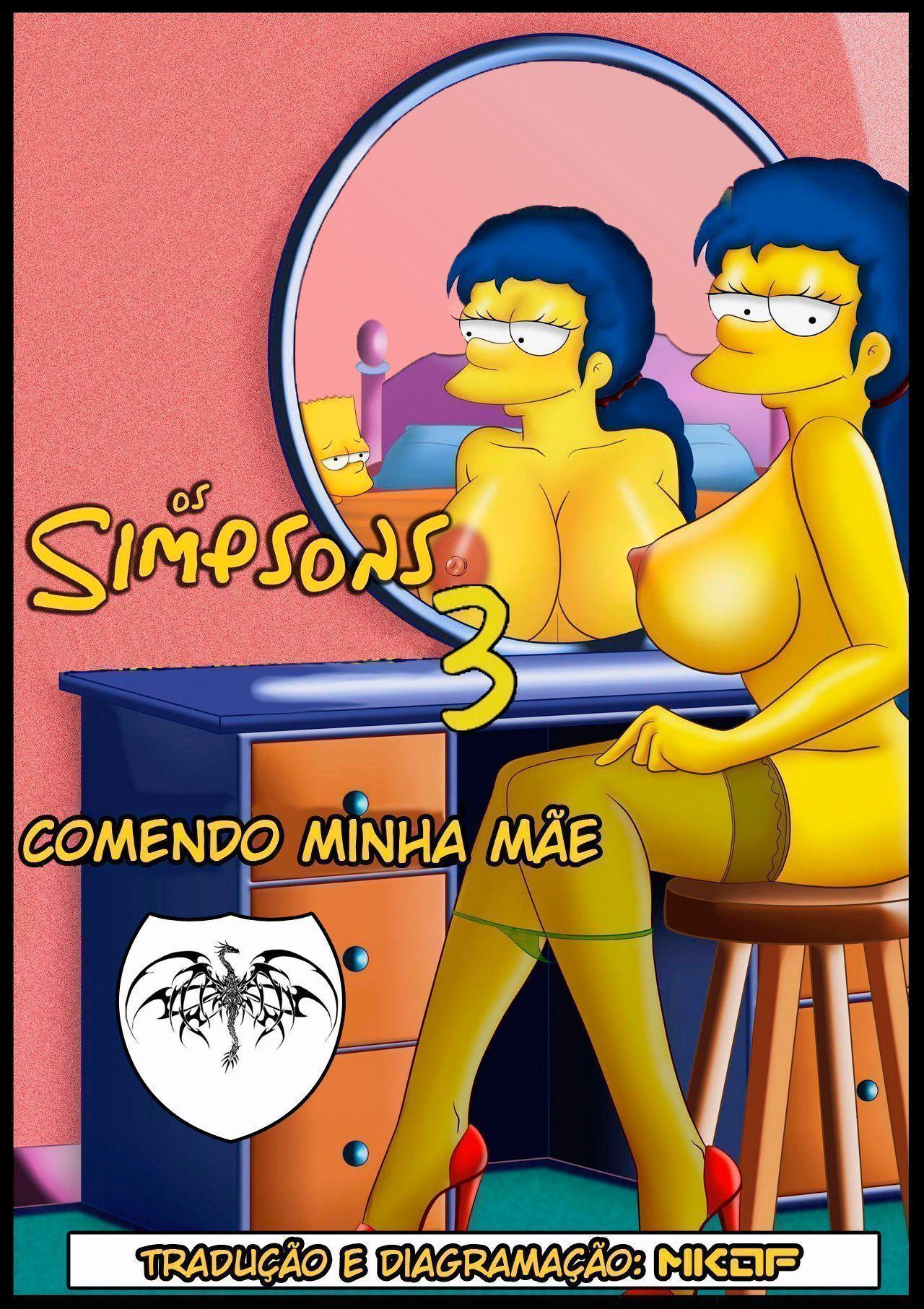 Familia Simpsons porno comendo minha mãe 03