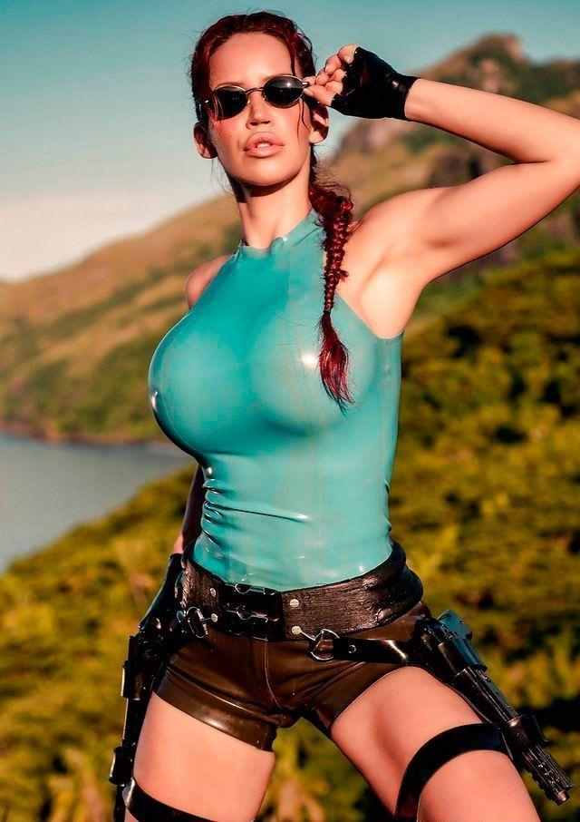 Lara Croft Cosplay Porno Imagens Hentai Da Tomb Raider
