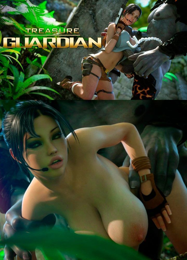 Lara Croft Hentai porno – Treasure Guardian