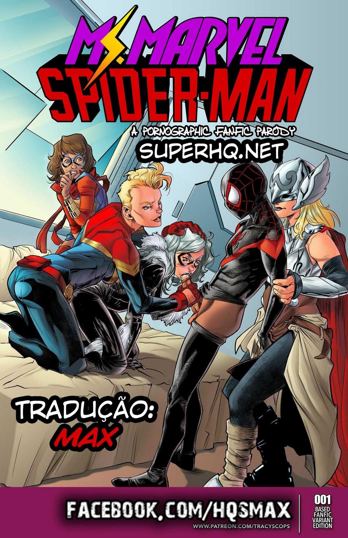 Marvel Porno Homem Aranha Fudendo