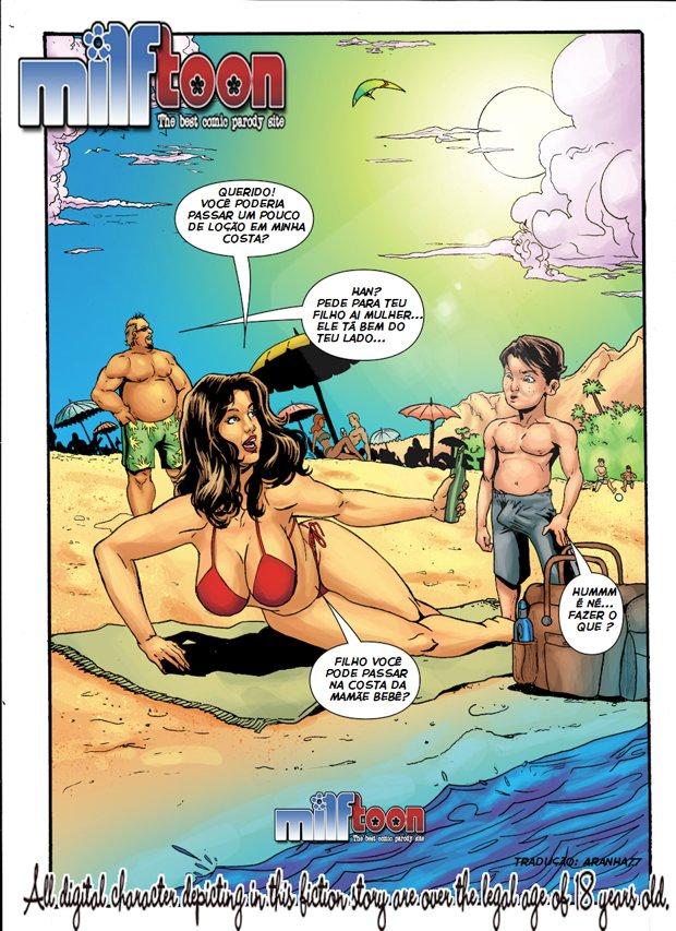 Quadrinhos Milftoon incesto Obsessão 01