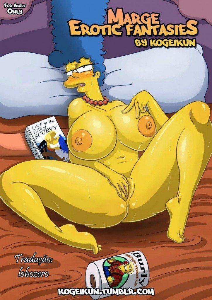 Quadrinhos eróticos os Simpsons fantasias eróticas
