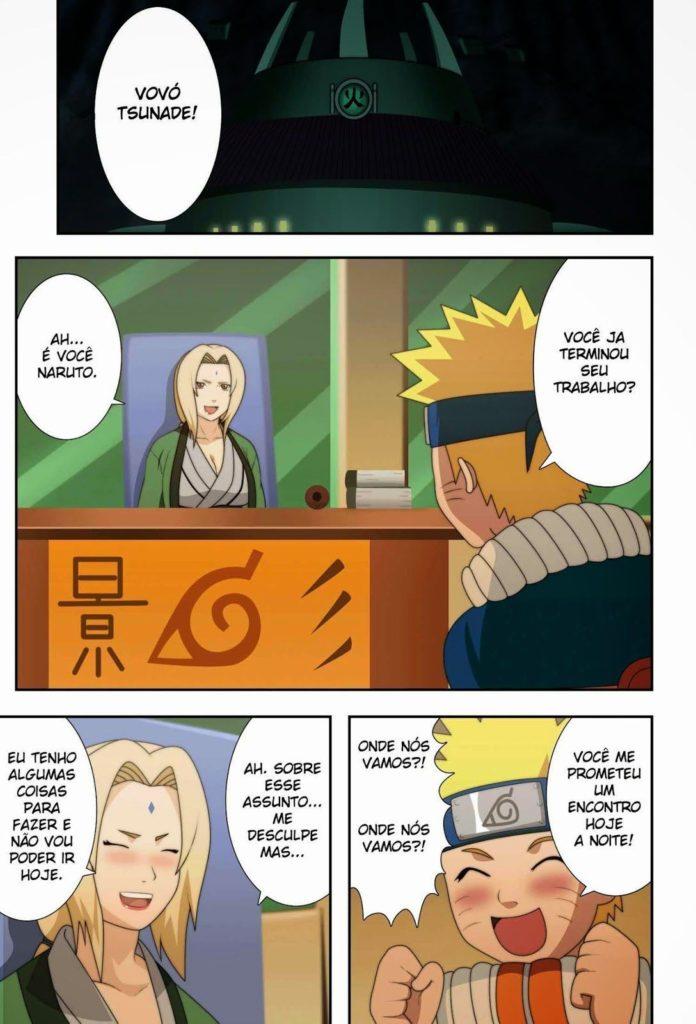 Quadrinhos porno do Naruto fudendo a Tsunade