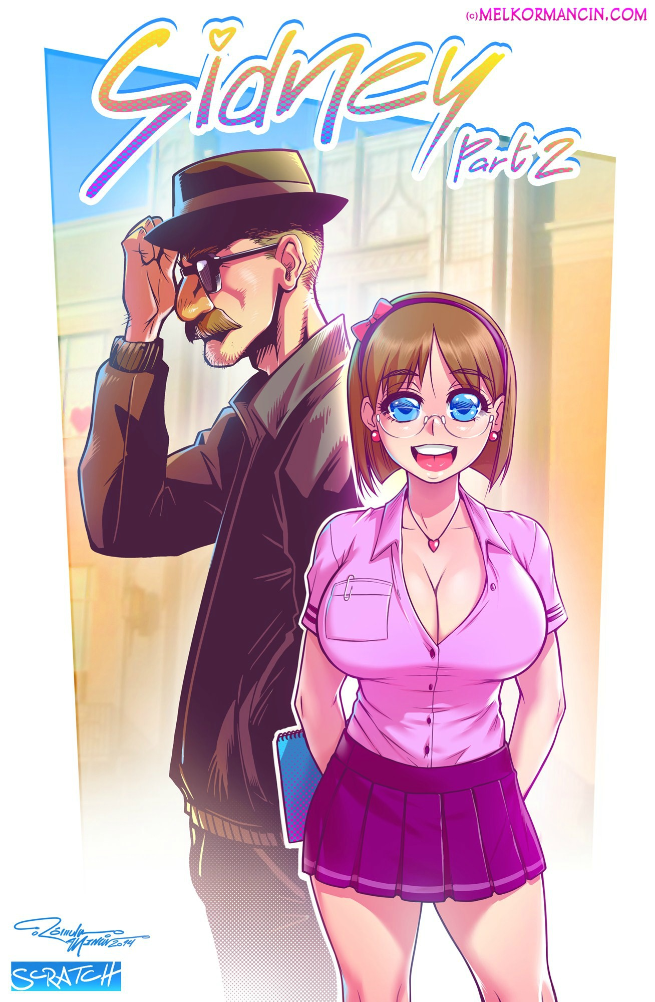 Sidney 2 – Hq Hentai erótico fodendo na escola