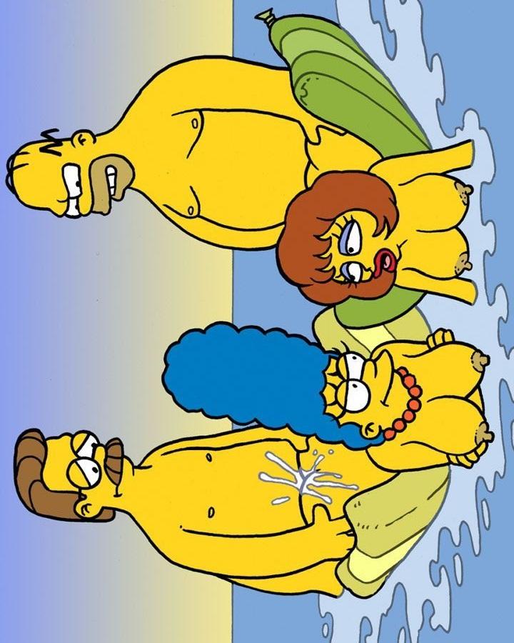 Simpsons quadrinhos pornô troca de casais