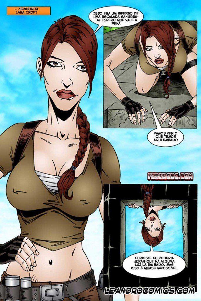 Tomb Raider Hentai Lara Croft Em Os Nativos Tarados
