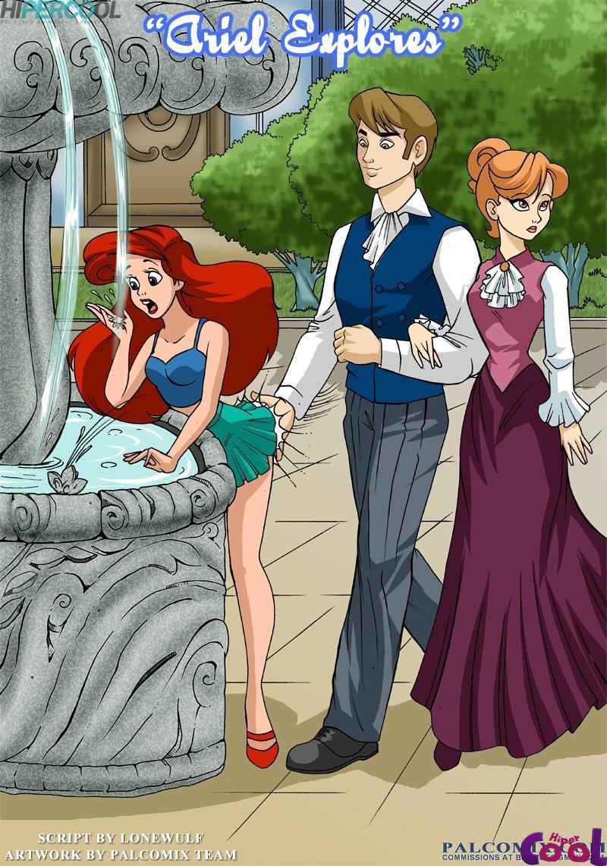Disney quadrinhos eróticos Ariel trepando com velho insaciável