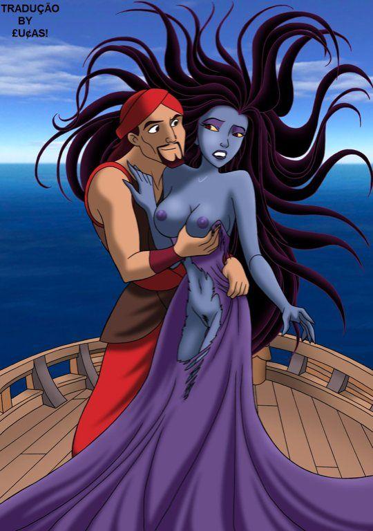 Disney quadrinhos porno Sinbad fodendo uma gostosa