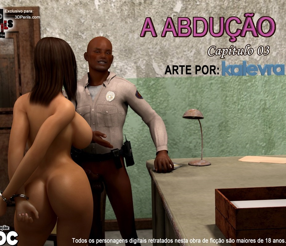 Estupro quadrinhos porno: The Abduction 03