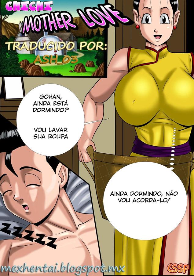 Dragon Ball hqs erótico mãe e filho fodendo