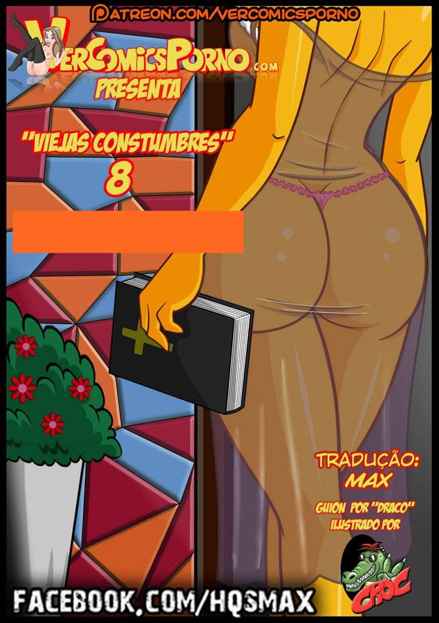 Família Simpsons pornô: Velhos costumes 08
