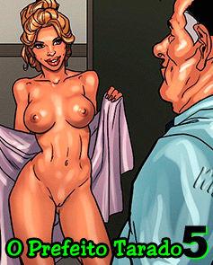 O prefeito tarado 05 todos os quadrinhos pornô completo