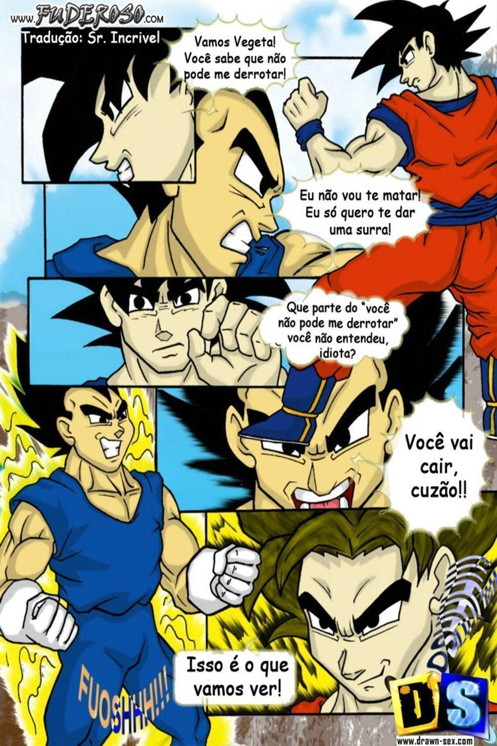 Porno hentay Dragon Ball animes de sexo