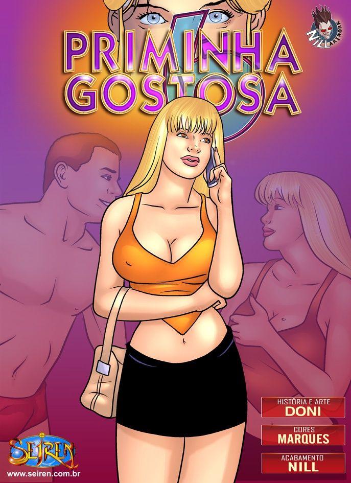Priminha gostosa 06 – Quadrinhos pornô eróticos
