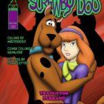 Scooby Doo cartoon pornô Daphne fazendo Zoofilia