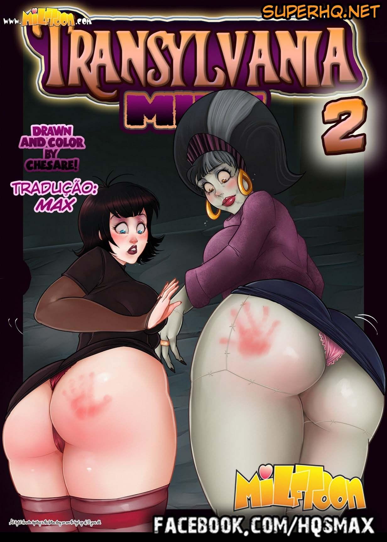 Transilvânia 2 quadrinhos eróticos Milftoon