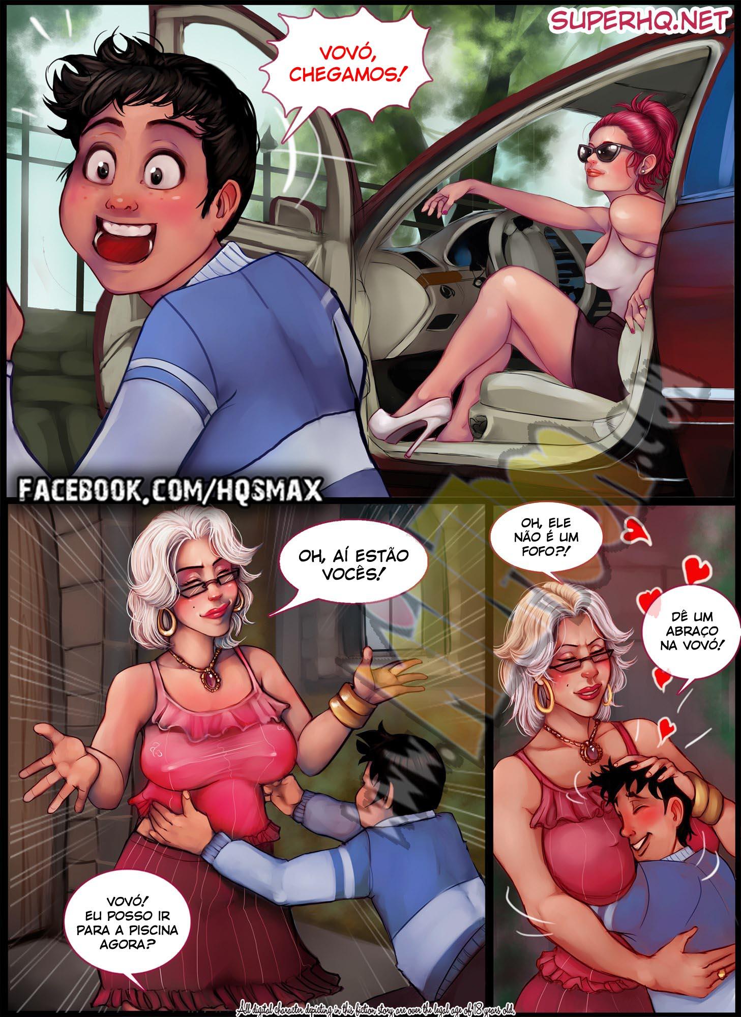 Grand Prize: Quadrinhos eroticos com vovozona gostosa
