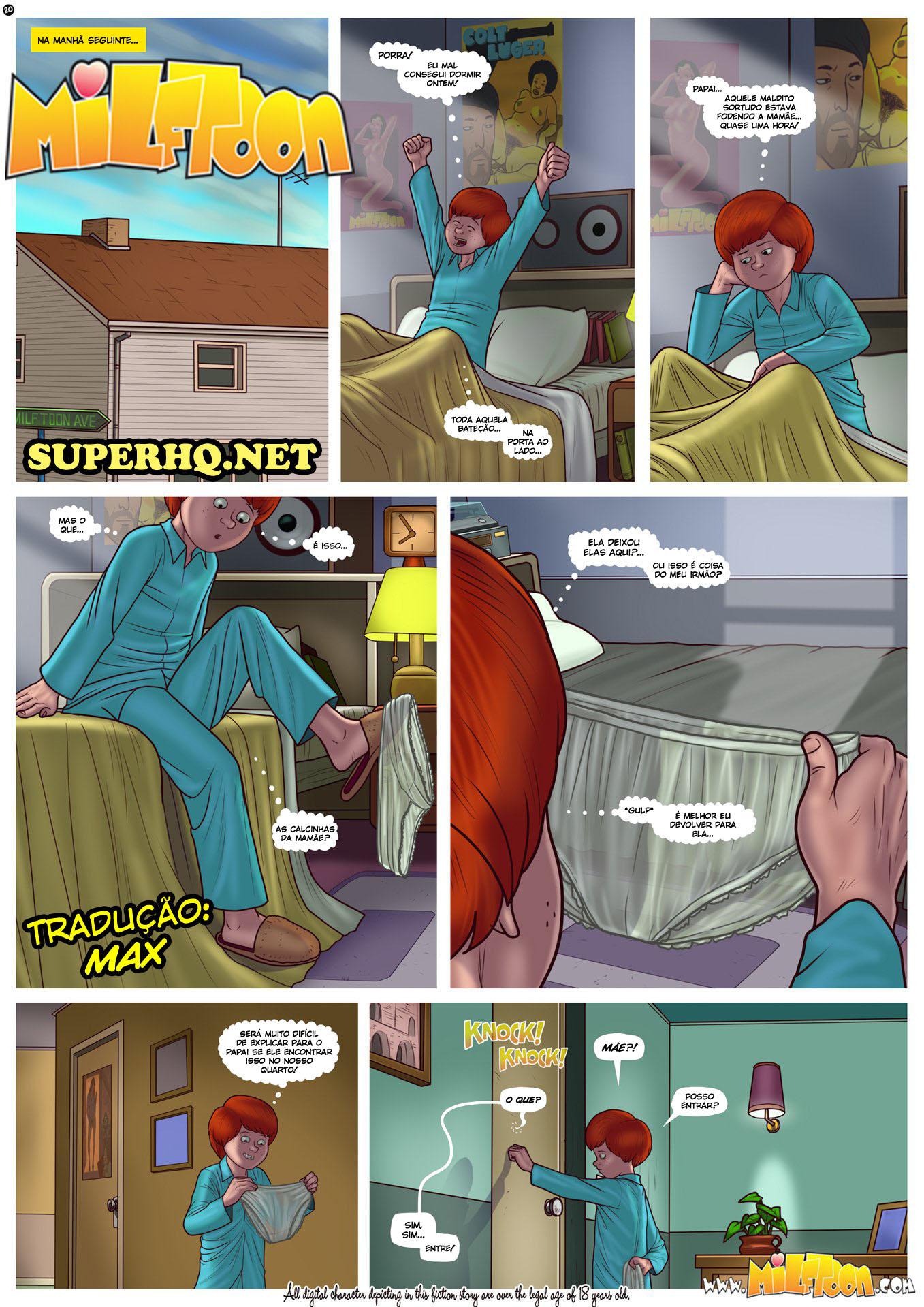 HQ incesto mãe fodendo com filho em quadrinhos pornô 02