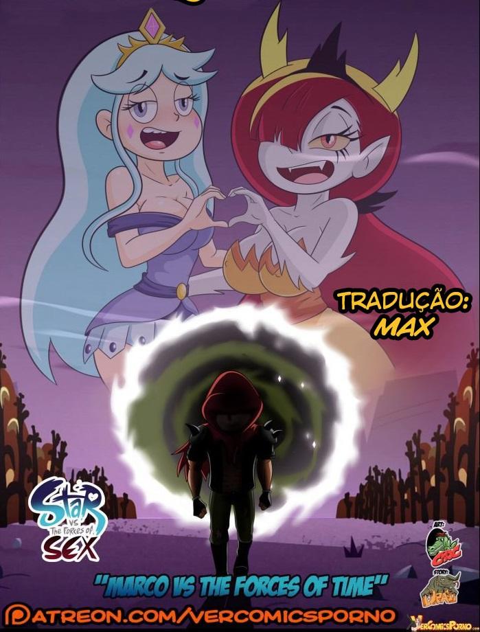 Pornô desenho animado cartoon Marco contra as forças do tempo