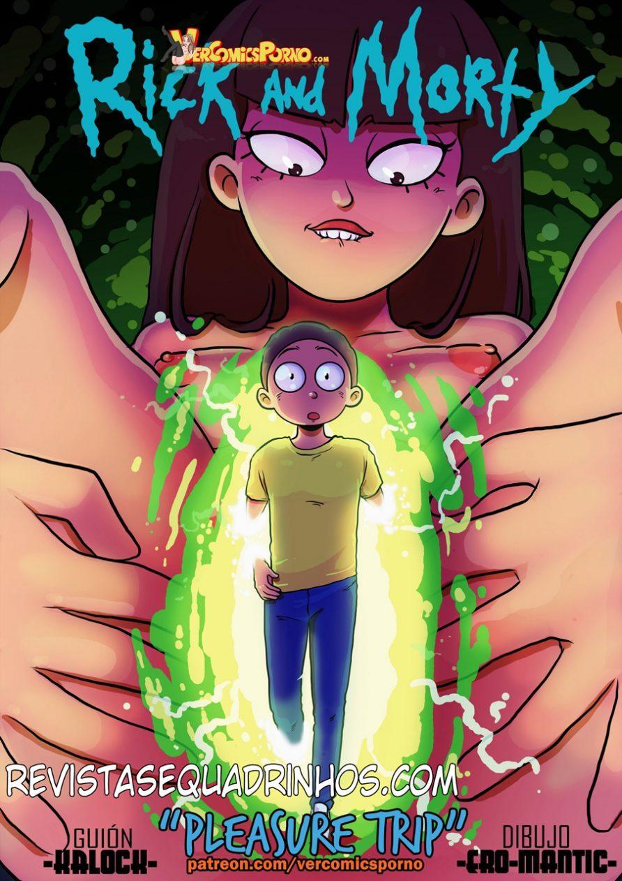 Desenhos de sexo cartoon porno Rick e Morty – viagem de prazer