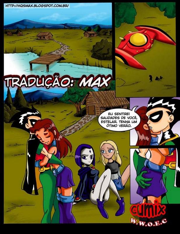 Fenix Hentai: Jovens Titãs X-men e Os incríveis