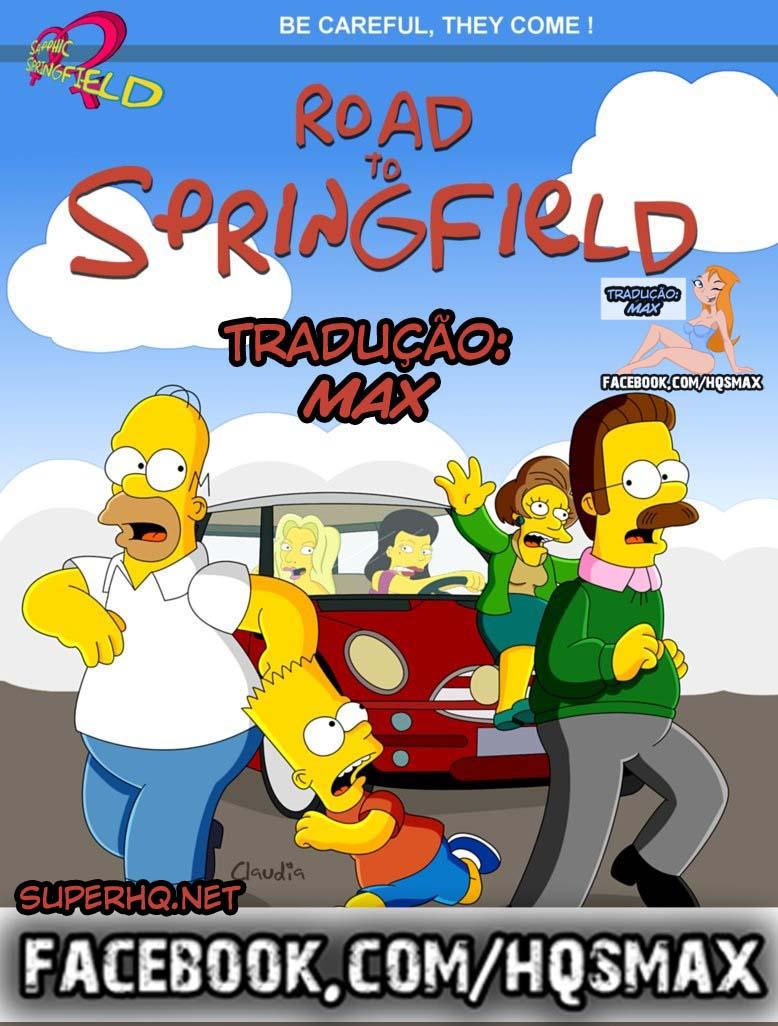 Os Simpsons Hentai Pornô