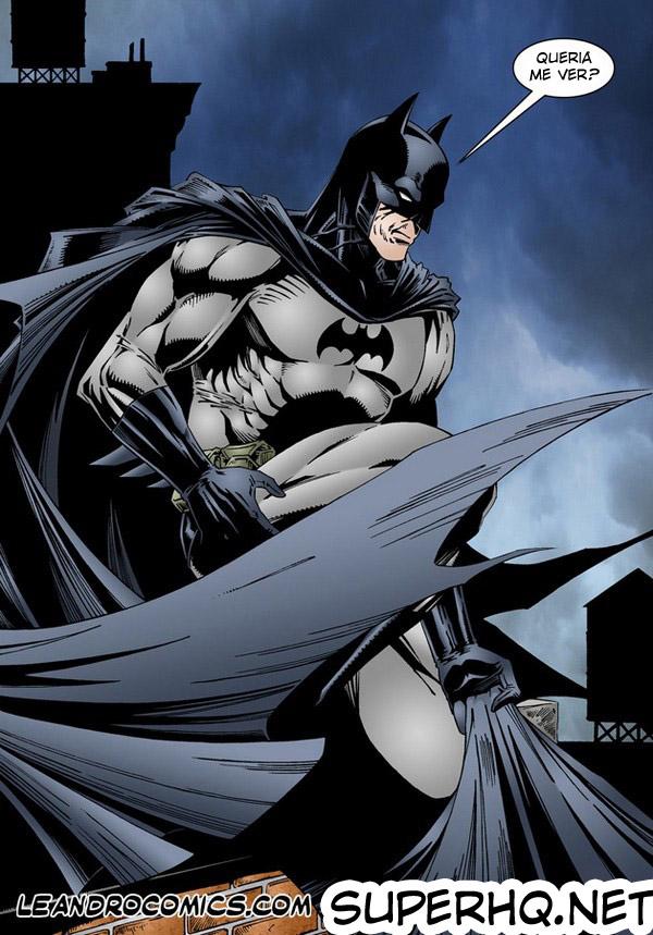 Porno desenho de sexo HQ: Batman e Mulher Gato