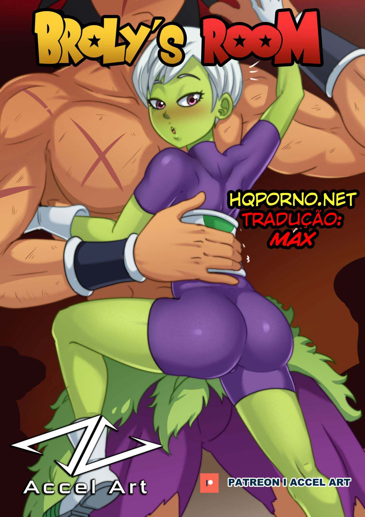 Dragon Ball Z Hentai: Broly's Room – Cartoon Pornô