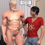 Hentai Gay 3D: Quadrinhos de sexo