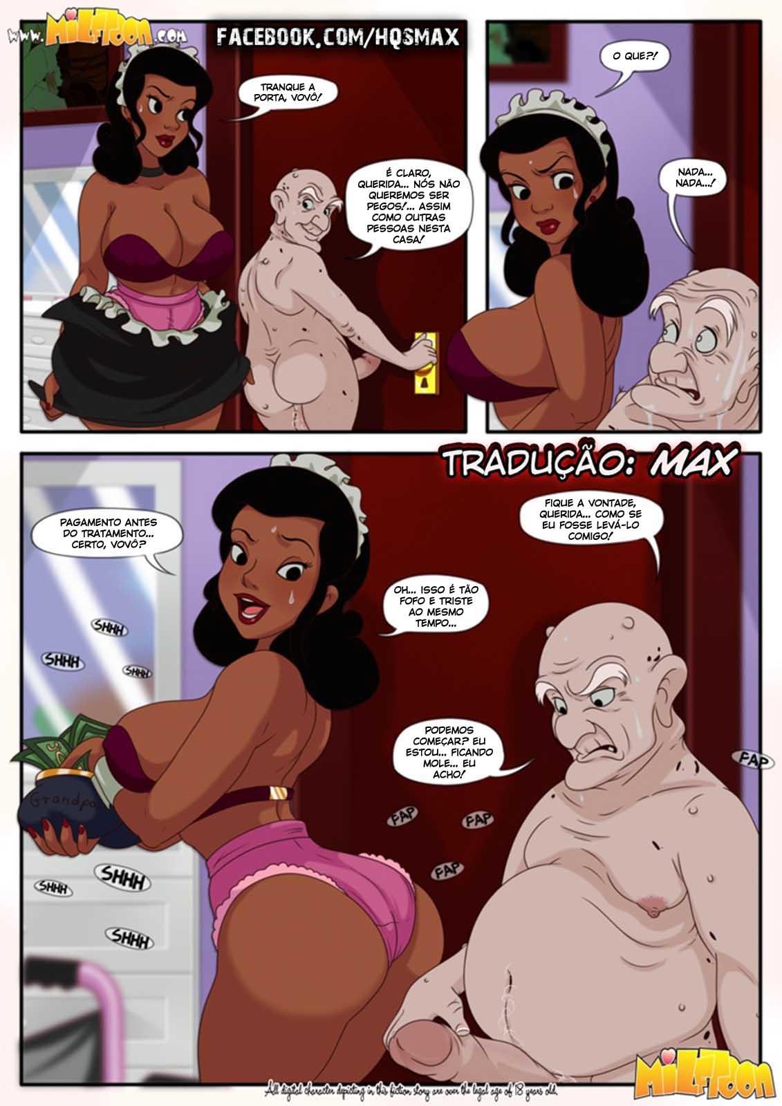 Milftoon quadrinhos eroticos: Traição em familia – The Milftoons 2
