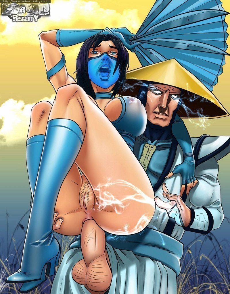 Mortal Kombat quadrinhos porno de sexo