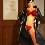 Porno HQ Hentai 3D: Detetive Peituda