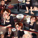 Quadrinho Hentai Comics: Os incriveis – Transando com a mamãe