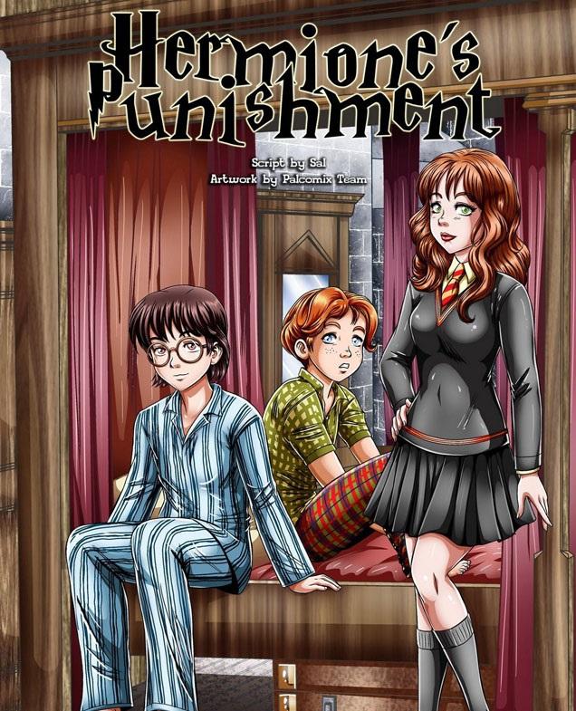 Harry Potter fudendo Hermione Granger