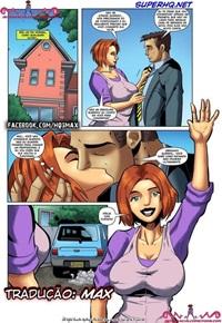 A esposa e o amante negão