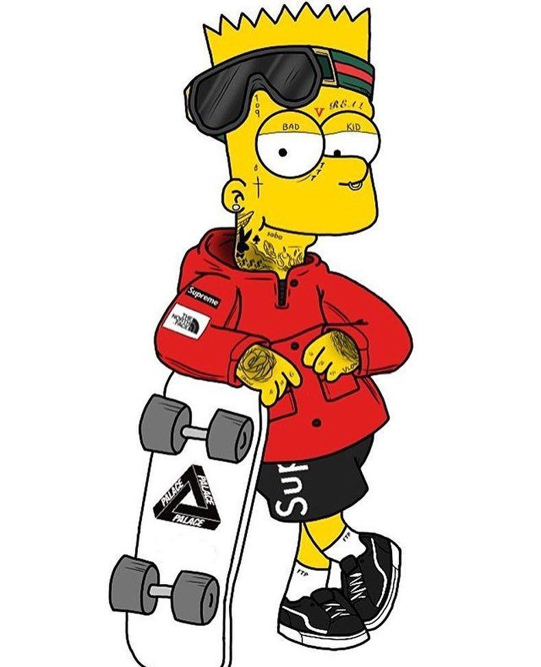 Bart Simpson De Pau Duro