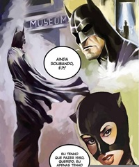 Batman Fodendo Mulher Gato