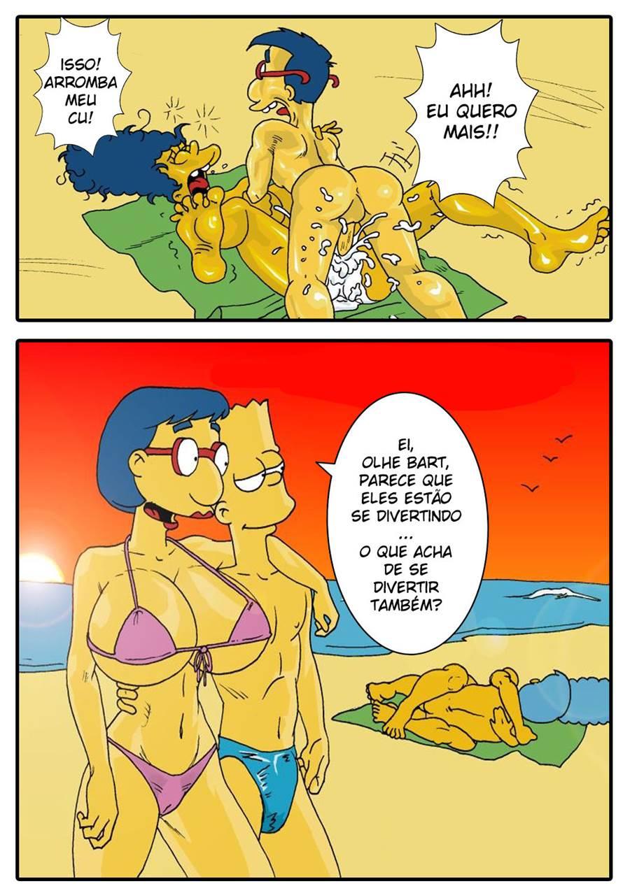Porno Die Simpsons