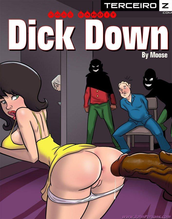 Dick Down – Estuprando mãe e filha