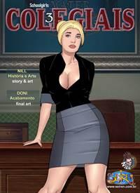 Colegiais capítulo 03 – Sexo anal com mãe do aluno