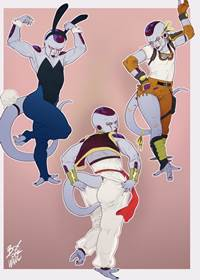 Freeza dando cu – Dragon Ball Gay