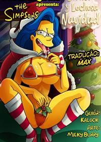 Os Simpsons, Natal Branco e Leitoso
