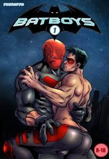 Batman comendo Robin