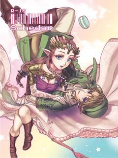 Schedar – Princesa Zelda e Link