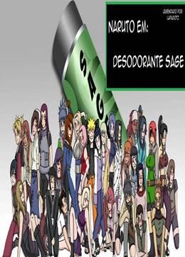 Naruto em Desodorante Sage